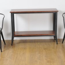 Industrial Living Console Table