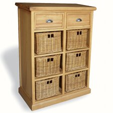 Victoria 2 Drawer Chest with 6 Baskets