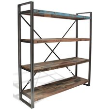 Recycled Boat Bookcase