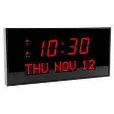 <strong>Big Time Clocks</strong> Super Large LED Digital Calendar Clock