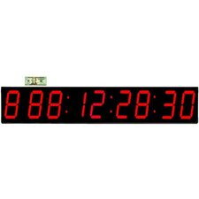 "Huge 7"" Digit LED 1000 Day Event Timer Clock"