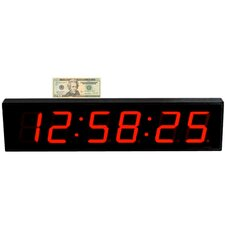 <strong>Big Time Clocks</strong> Extra Large 4' LED Digital Clock