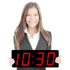 "Huge 5"" Numbers Multi-Alarm LED Clock"
