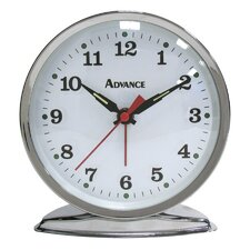 Advance Time Organtick Keywind Alarm Clock