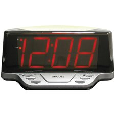 "Elgin 1.8"" Loud Alarm Clock with Night Light"