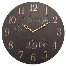 "Geneva 12"" Wall Clock"