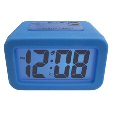 "<strong>Geneva Clock</strong> Advance Time 1.25"" Silicone LCD Alarm Clock"