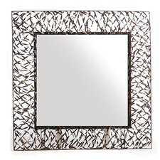 Woven Accents Mirror