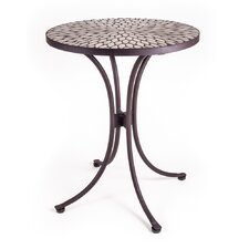 <strong>New Rustics Home</strong> Mosaic Round Speckled Hen Table