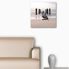 Deco Glass Path to Silky Sky Photographic Print