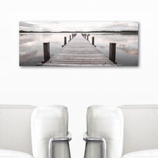 Deco Glass Precious Silence Photographic Print