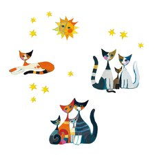 Cats Window Sticker