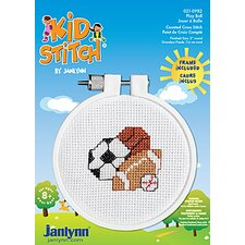 Play Ball Counted Cross Stitch