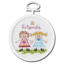 Friends Counted Cross Stitch