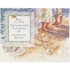 Beach Romance Counted Cross Stitch
