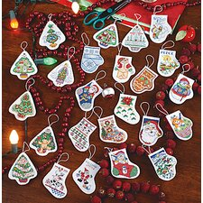 Festive Ornaments Counted Cross Stitch