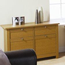 Sideboard Fuse mit 2 Schubladen und 2 Türen