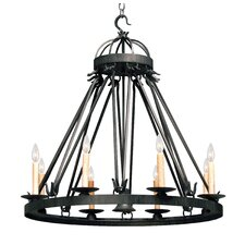 Lakeshore 9 Light Chandelier