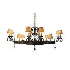 <strong>2nd Ave Design</strong> Andorra 12 Light Chandelier