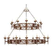 <strong>2nd Ave Design</strong> Majella 28 Light Chandelier
