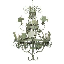 <strong>2nd Ave Design</strong> De La Mar 9 Light Chandelier