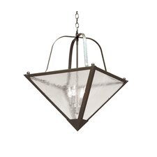 Zale 4 Light Inverted Pendant