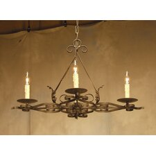 <strong>2nd Ave Design</strong> Elianna 4 Light Chandelier