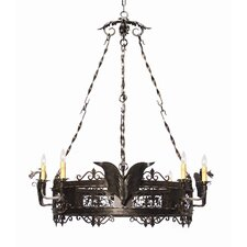 Dragone 8 Light Chandelier