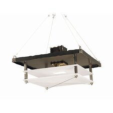 Metropolis 2 Light Foyer Pendant