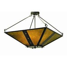 Zandra 4 Light Inverted Pendant