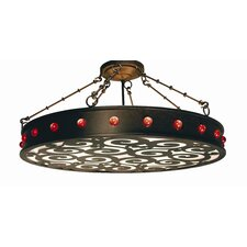 Jules 16 Light Drum Pendant