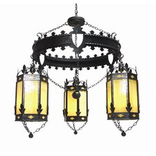 Valhalla 3 Light Chandelier
