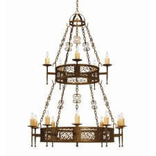 <strong>2nd Ave Design</strong> Toscano 15 Light Chandelier
