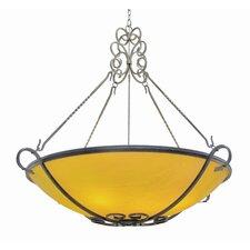 Alaine 8 Light Bowl Inverted Pendant