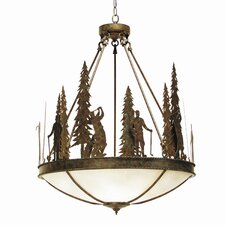 Ironwood 5 Light Inverted Pendant