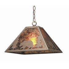 Bear Creek 1 Light Pendant