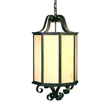 Musetta 4 Light Outdoor Foyer Lantern