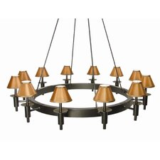 Calais 12 Light Chandelier