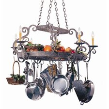 Neo Bella Chandelier Pot Rack with 6 Light
