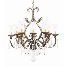 <strong>2nd Ave Design</strong> French Elegance 12 Light Chandelier