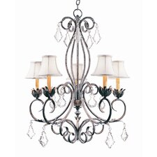 <strong>2nd Ave Design</strong> Felicia 5 Light Chandelier