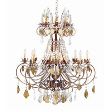 <strong>2nd Ave Design</strong> Minuet 16 Light Chandelier