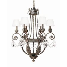 <strong>2nd Ave Design</strong> Antonia 6 Light Chandelier