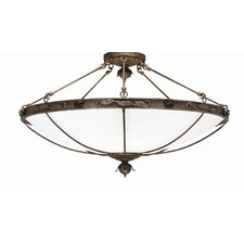 Arabesque 8 light Flush Mount
