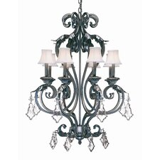 <strong>2nd Ave Design</strong> Josephine 8 Light Chandelier