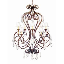 <strong>2nd Ave Design</strong> Josephine 10 Light Chandelier