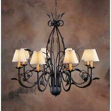 <strong>2nd Ave Design</strong> Bordeaux 8 Light Chandelier