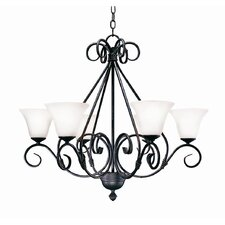 Olivia 6 Light Chandelier