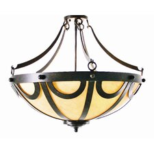 Carousel 3 Light Inverted Pendant