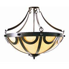 Carousel 3 Light Inverted Pendant